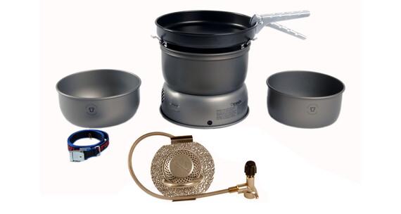 Trangia 25-3 UL ALU HA Friluftskök Ultralight, Aluminium med gasbrännare silver